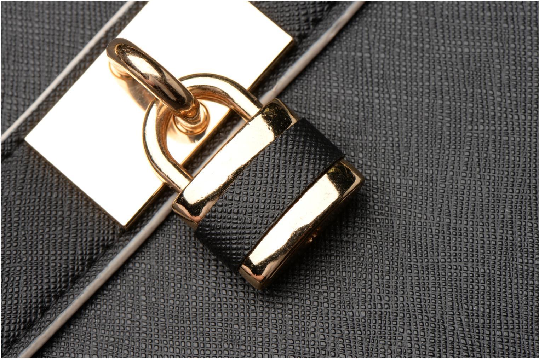 Bolsos de mano Dorothy Perkins Black WBone Piping Belted Oversize Tote Negro vista lateral izquierda