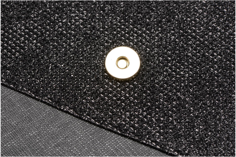 Sacs pochettes Dorothy Perkins Panelled Asymetric Wristlet Noir vue gauche