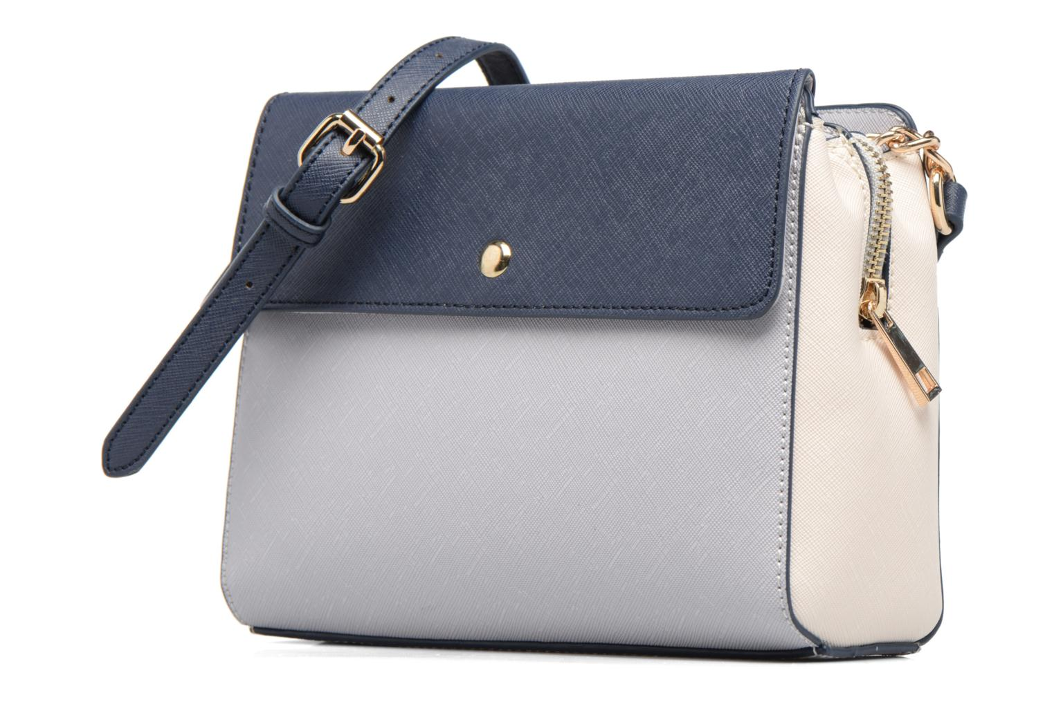 Triple Compartment Body Navy grey