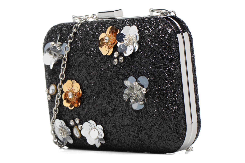 Sacs pochettes Dorothy Perkins Embellished Flower Box Clutch Noir vue portées chaussures