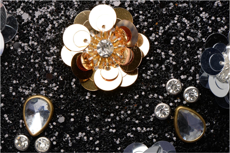 Sacs pochettes Dorothy Perkins Embellished Flower Box Clutch Noir vue gauche