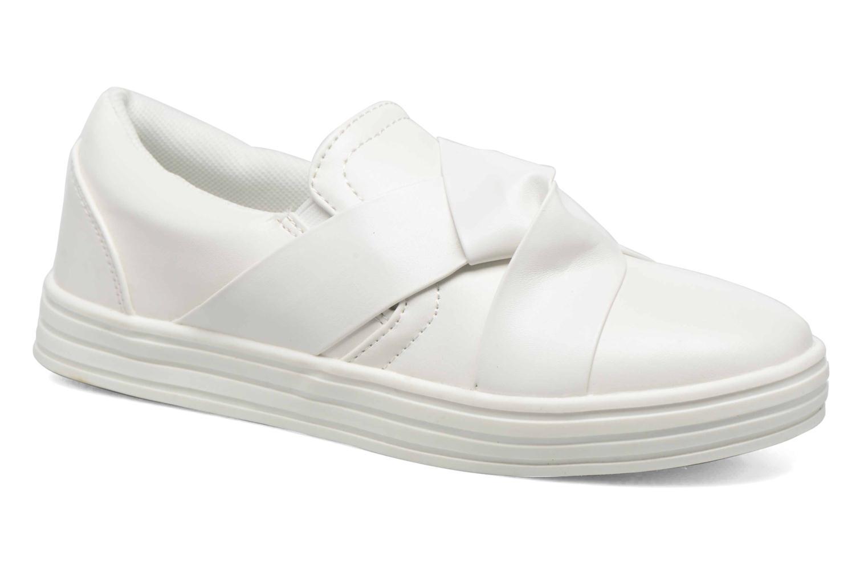 Baskets I Love Shoes THEN Blanc vue détail/paire