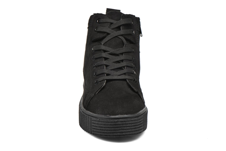 Baskets I Love Shoes THUMI HIGH Noir vue portées chaussures