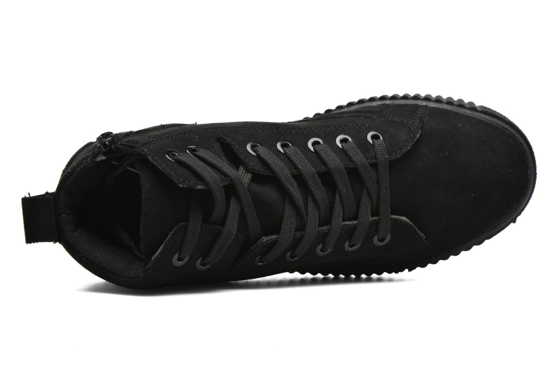 Baskets I Love Shoes THUMI HIGH Noir vue gauche