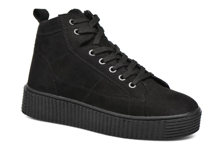 Baskets I Love Shoes THUMI HIGH Noir vue détail/paire
