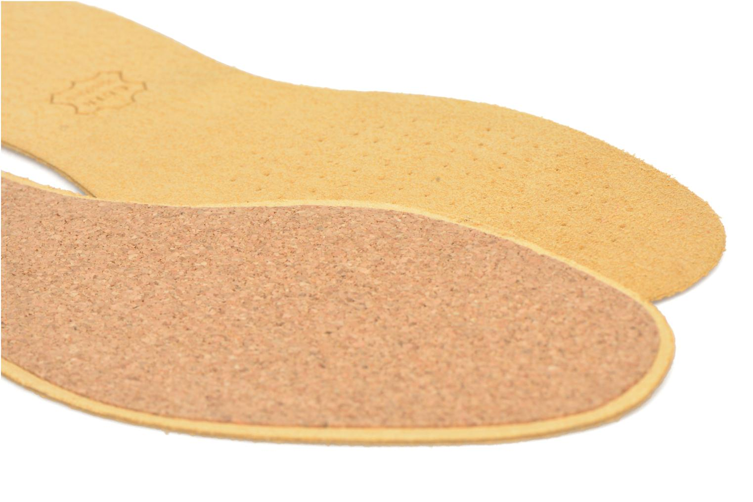 Insoles Sarenza care Semelle Cuir sur Liège Homme Brown view from the right