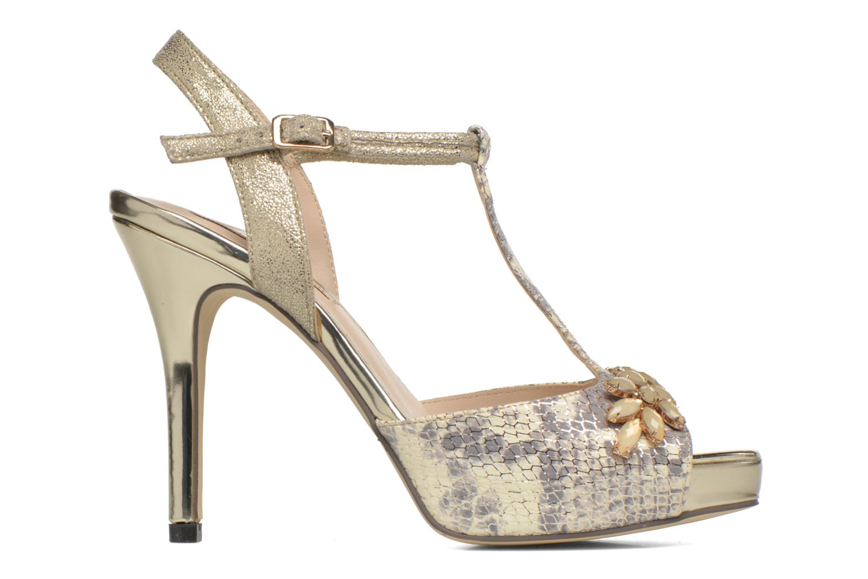 Zapatos de tacón Menbur Lisa Amarillo vistra trasera