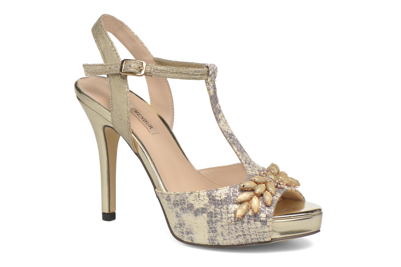 Zapatos de tacón Menbur Lisa Amarillo vista de detalle / par