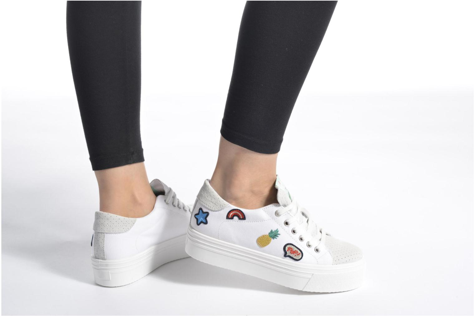 Sneakers Ippon Vintage Tokyo Patch Bianco immagine dal basso
