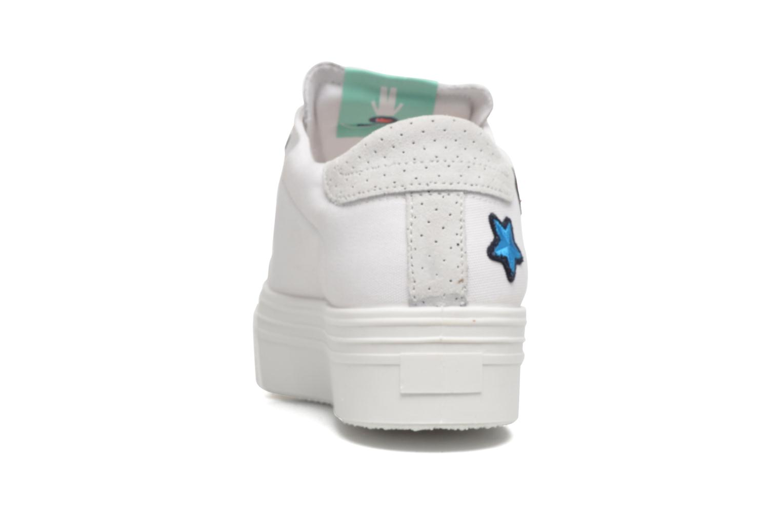 Sneakers Ippon Vintage Tokyo Patch Bianco immagine destra