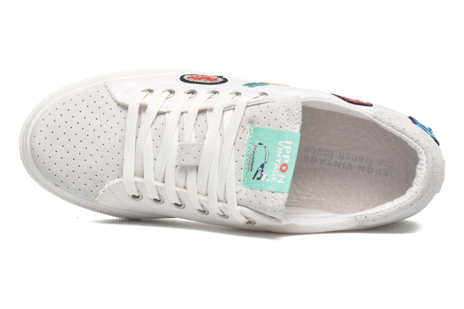 Sneakers Ippon Vintage Tokyo Patch Bianco immagine sinistra