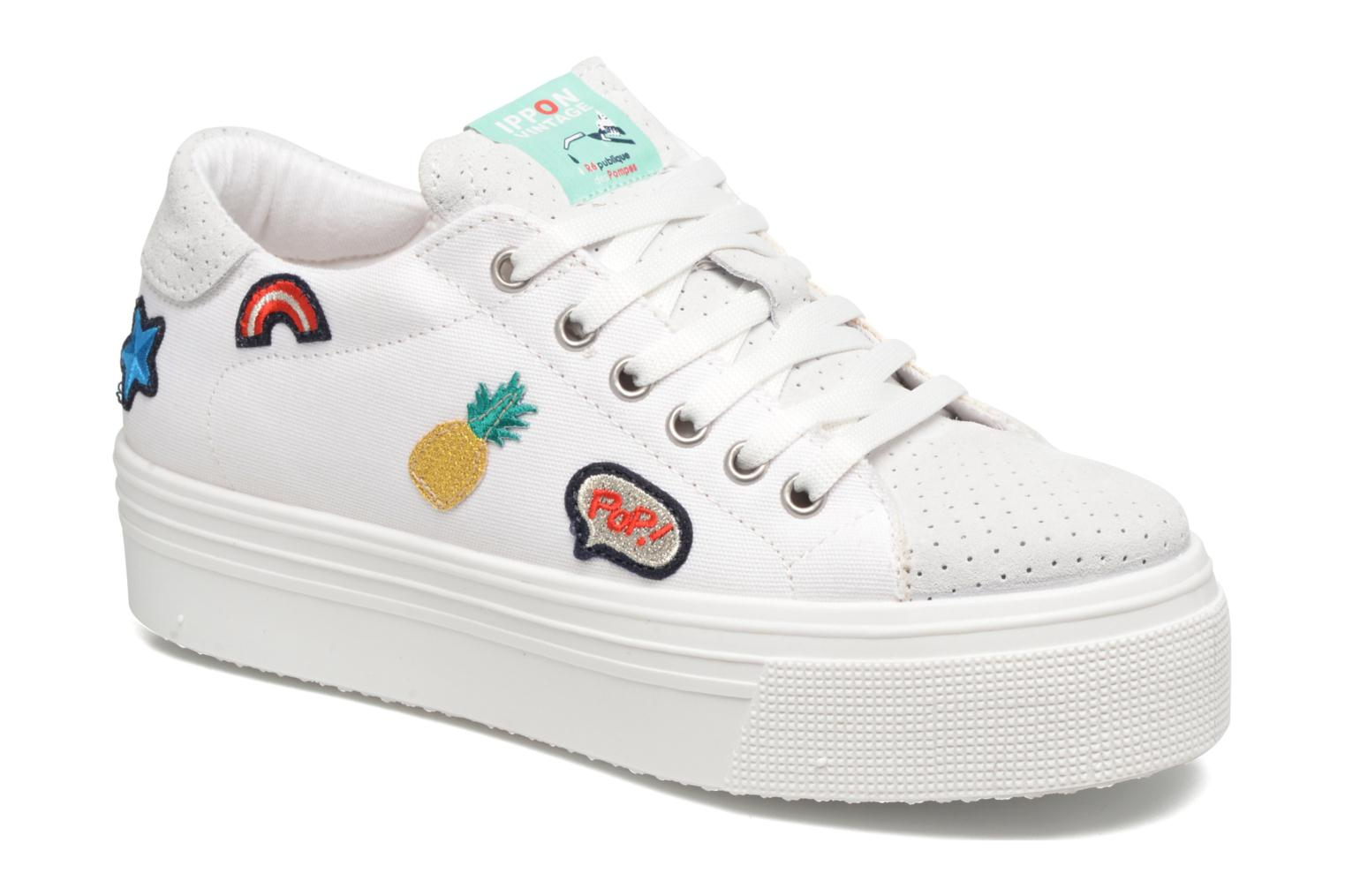 Trainers Ippon Vintage Tokyo Patch White detailed view/ Pair view