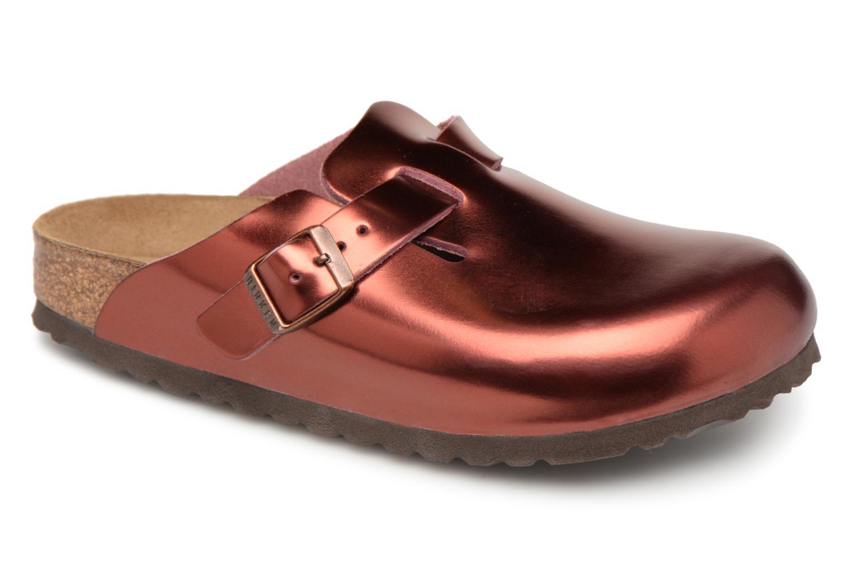 Grandes descuentos últimos zapatos Birkenstock Boston Sheepskin W (Vino) - Pantuflas Descuento