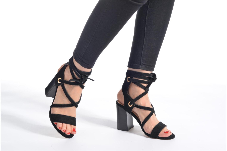 Sandales et nu-pieds Liu Jo Sandale Okiku Noir vue bas / vue portée sac