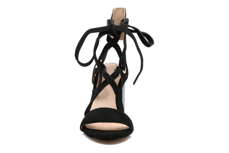 Sandales et nu-pieds Liu Jo Sandale Okiku Noir vue portées chaussures