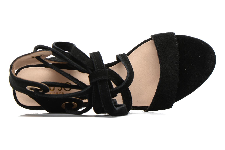 Sandales et nu-pieds Liu Jo Sandale Okiku Noir vue gauche