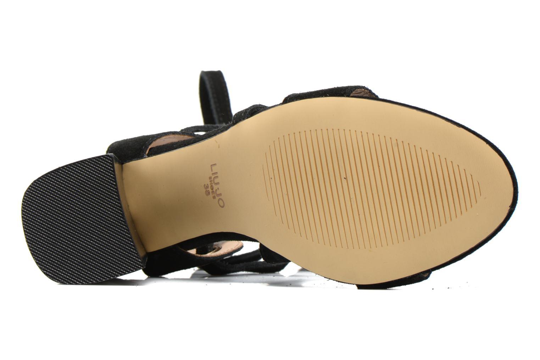 Sandales et nu-pieds Liu Jo Sandale Okiku Noir vue haut