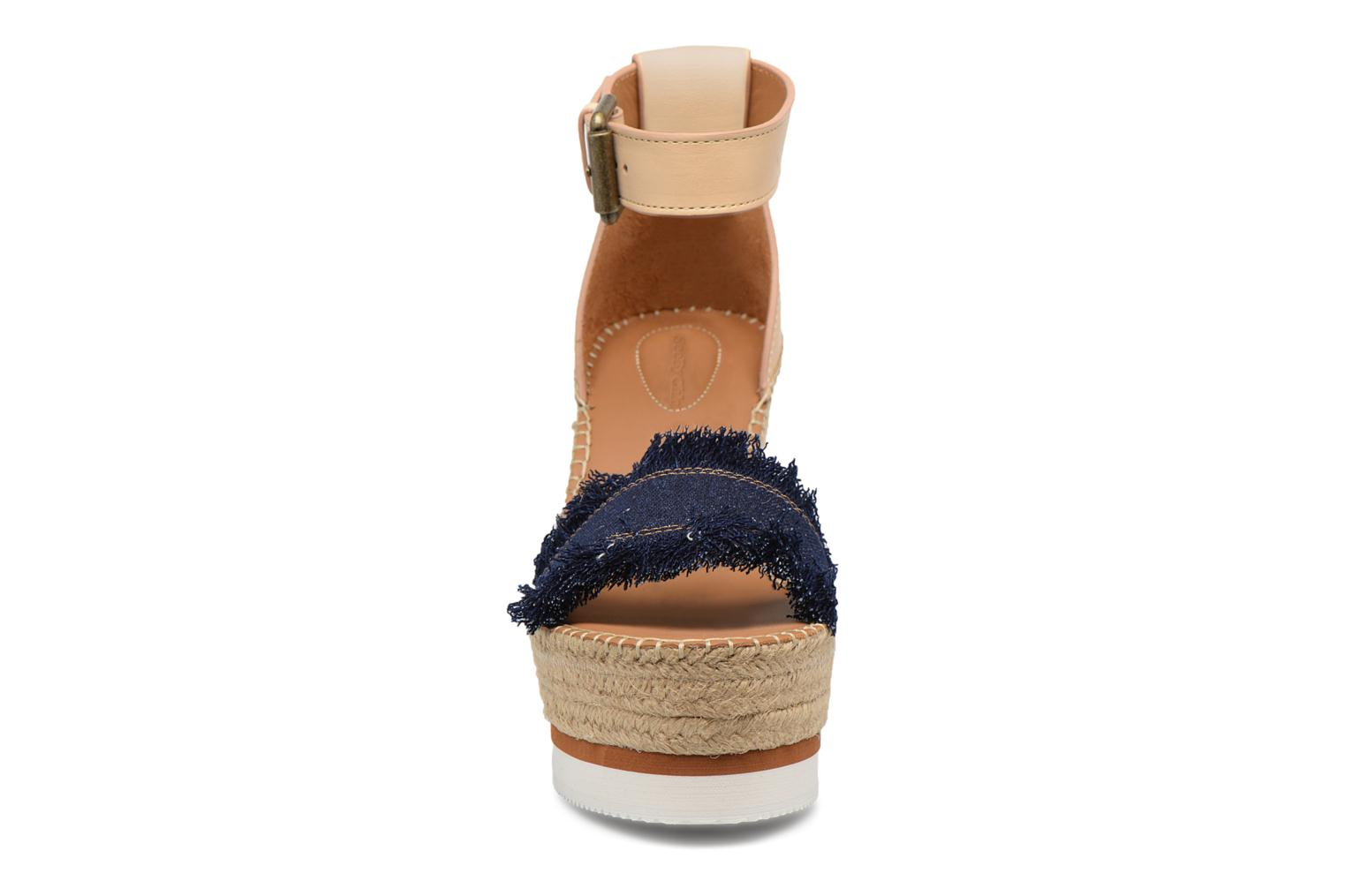 Sandals See by Chloé Glyn High Blue model view