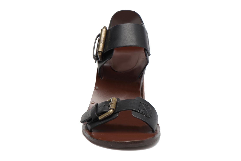 Sandales et nu-pieds See by Chloé Romy High Noir vue portées chaussures