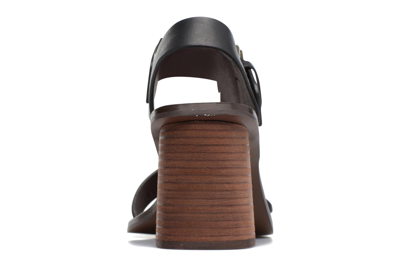 Sandales et nu-pieds See by Chloé Romy High Noir vue droite
