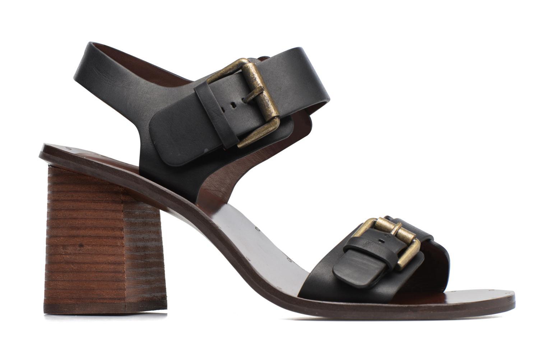 Sandales et nu-pieds See by Chloé Romy High Noir vue derrière