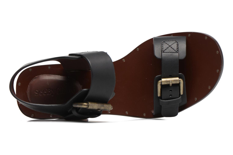 Sandali e scarpe aperte See by Chloé Romy High Nero immagine sinistra