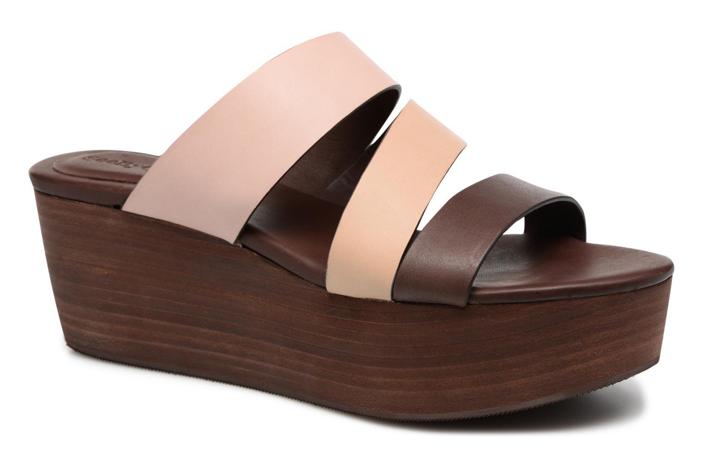 Sandales et nu-pieds See by Chloé Sunset Multicolore vue détail/paire