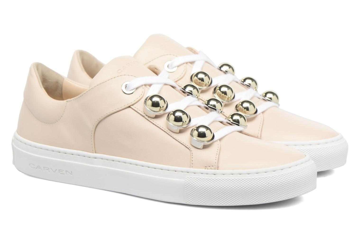 Baskets Carven Resonance Beige vue 3/4