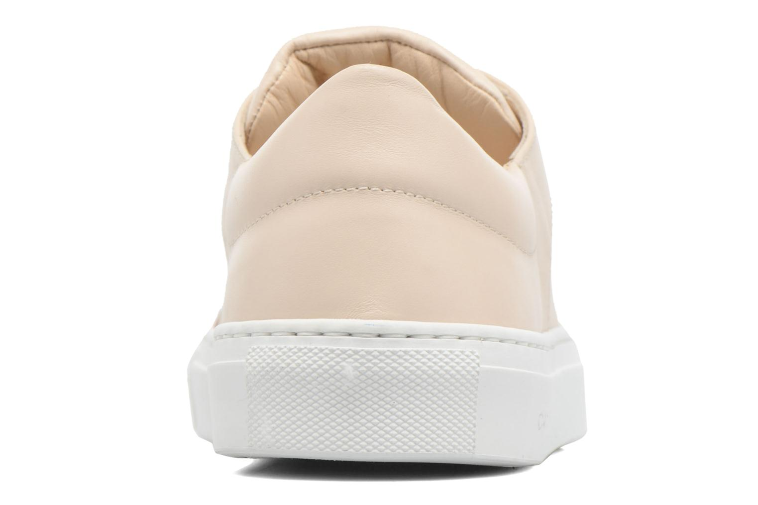 Baskets Carven Resonance Beige vue droite