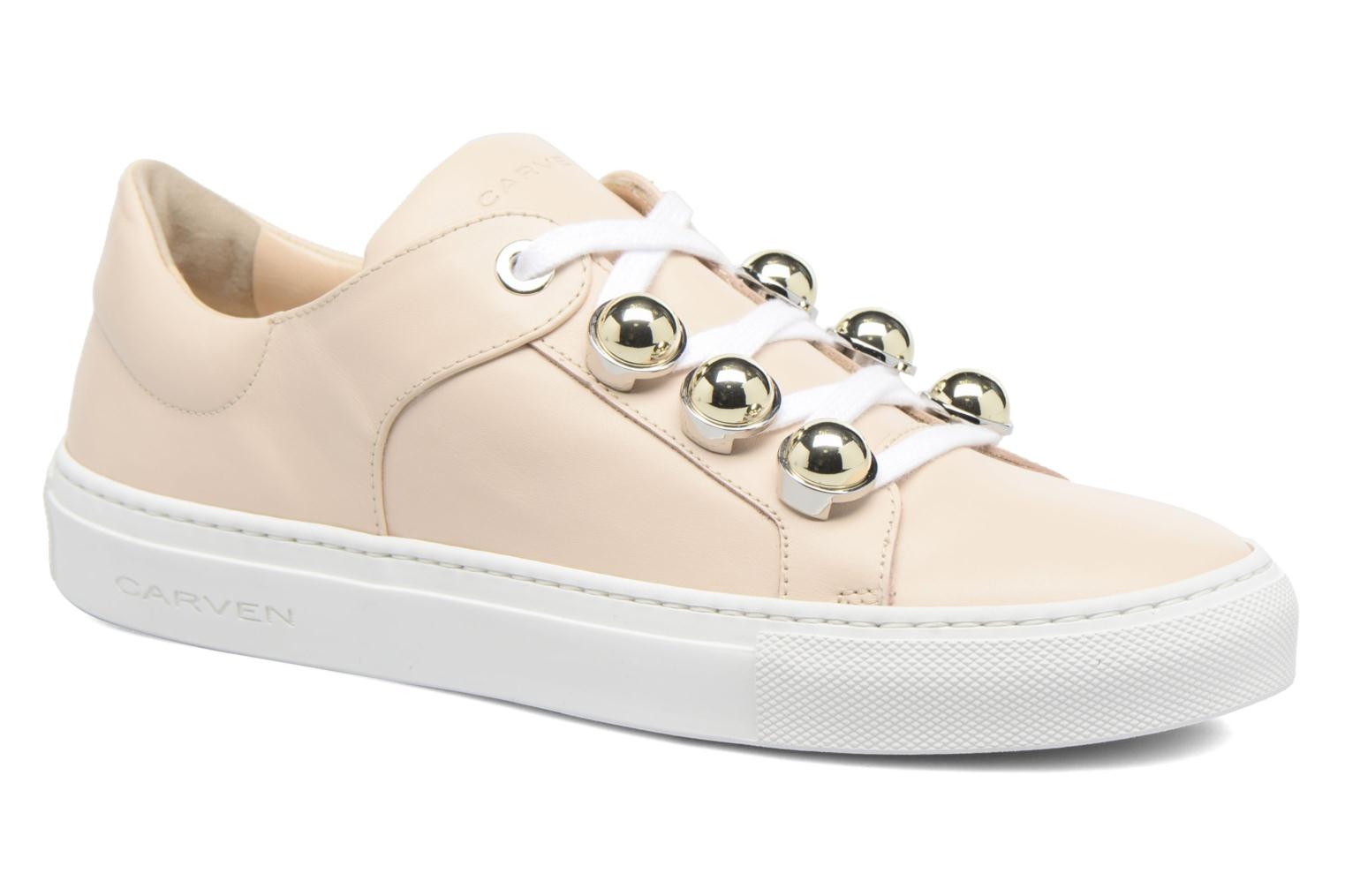 Baskets Carven Resonance Beige vue détail/paire
