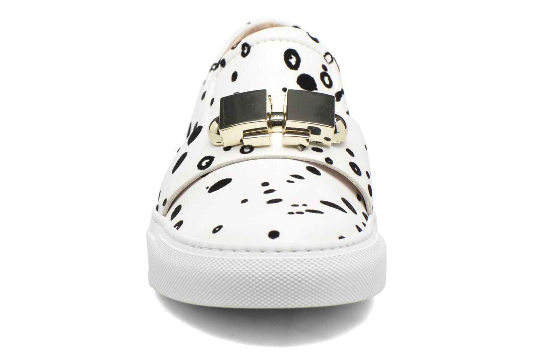 Baskets Carven Fulljoy Slip-On Blanc vue portées chaussures