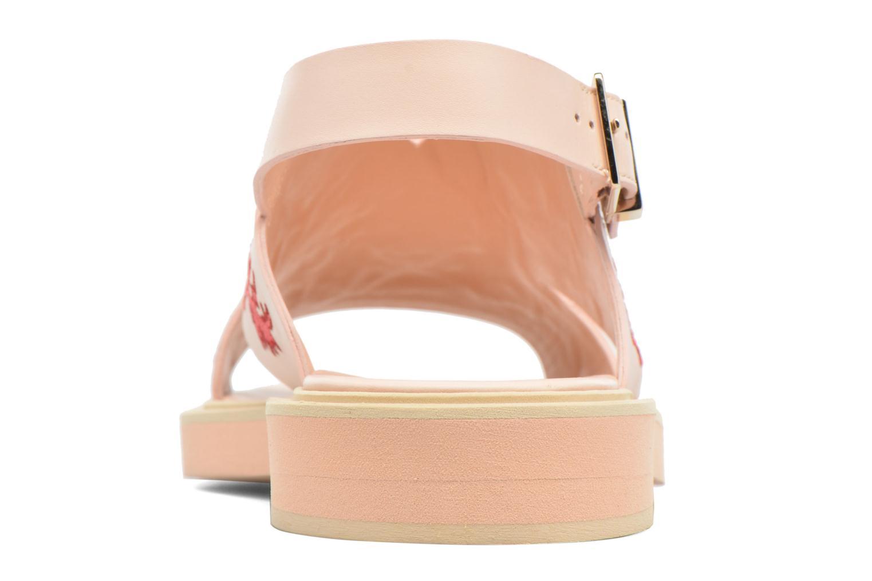 Sandalen Carven Butterfly Sandal rosa ansicht von rechts