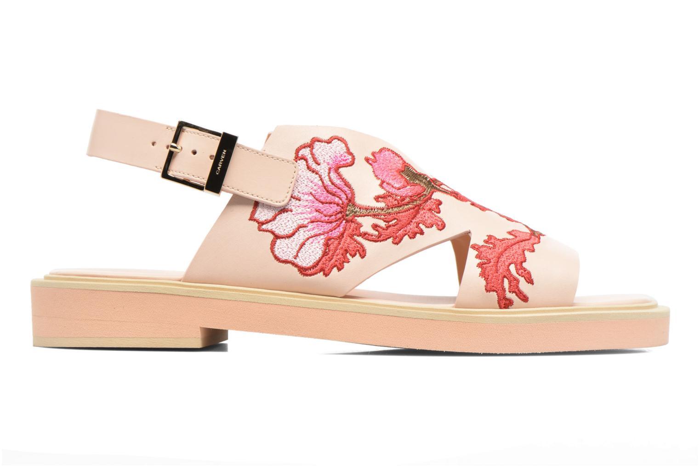 Sandalen Carven Butterfly Sandal Roze achterkant