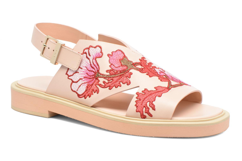 Sandales et nu-pieds Carven Butterfly Sandal Rose vue détail/paire
