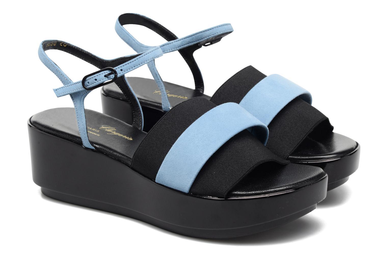 Sandales et nu-pieds Clergerie Poddy Bleu vue 3/4
