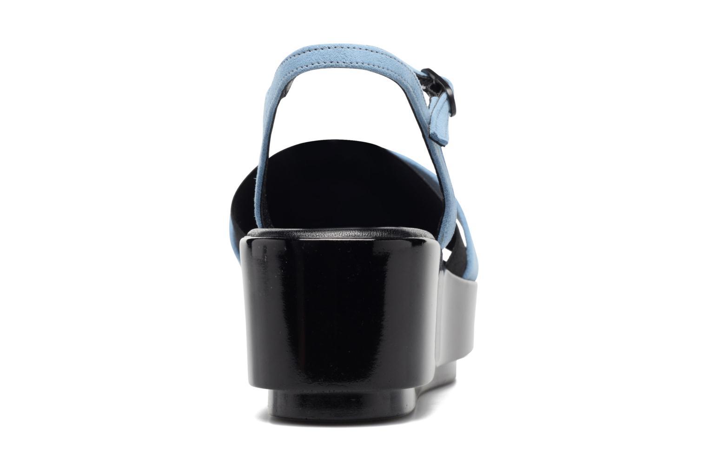 Sandales et nu-pieds Clergerie Poddy Bleu vue droite
