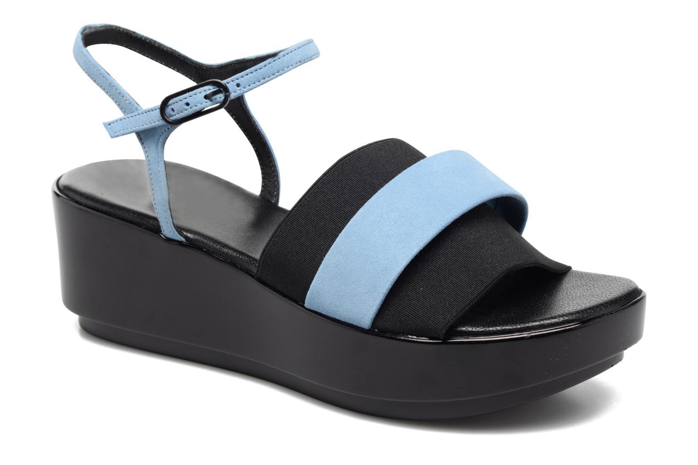 Sandales et nu-pieds Clergerie Poddy Bleu vue détail/paire
