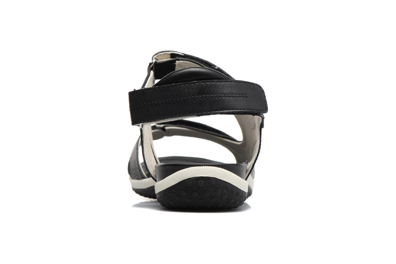 Sandali e scarpe aperte Geox D SAND.VEGA A D52R6A Nero immagine destra
