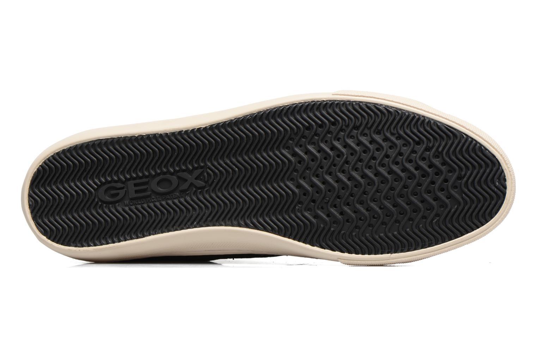 Sneaker Geox D NEW CLUB E D5458E schwarz ansicht von oben