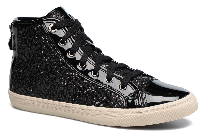 Sneaker Geox D NEW CLUB E D5458E schwarz detaillierte ansicht/modell