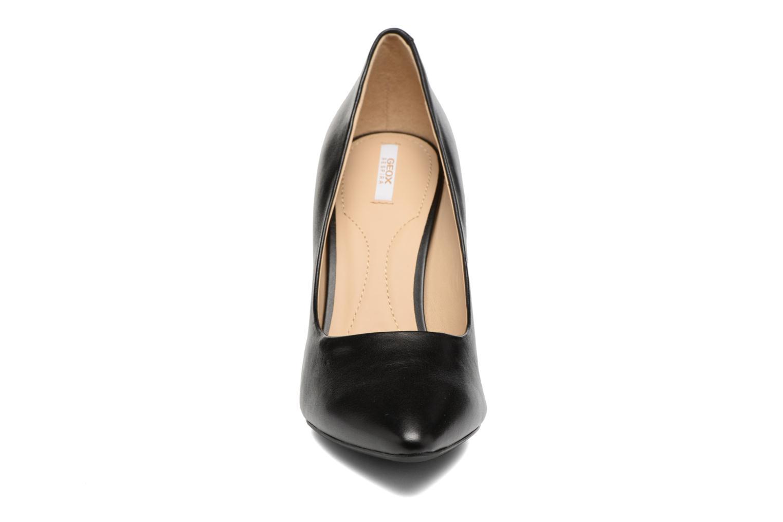 Escarpins Geox D CAROLINE C D62W1C Noir vue portées chaussures