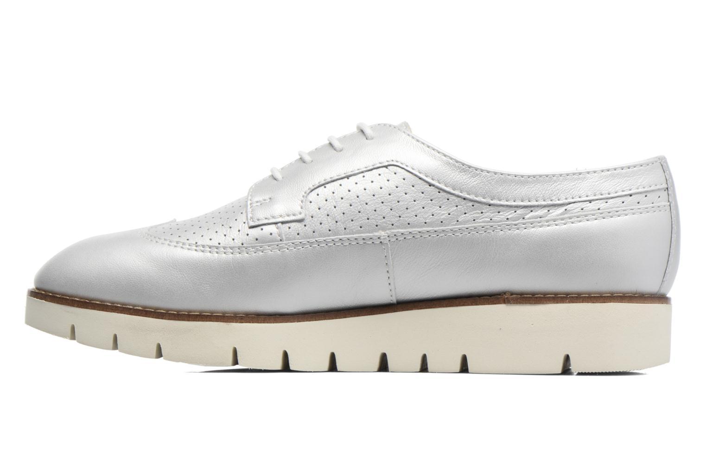 Chaussures à lacets Geox D BLENDA A D720BA Argent vue face