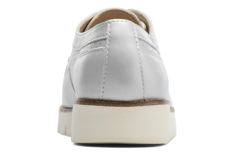Chaussures à lacets Geox D BLENDA A D720BA Argent vue droite