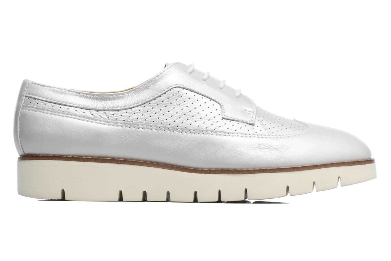 Chaussures à lacets Geox D BLENDA A D720BA Argent vue derrière