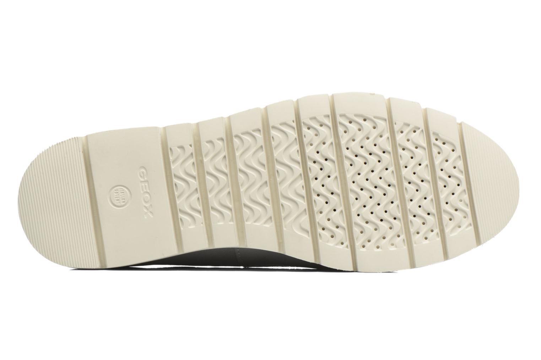 Chaussures à lacets Geox D BLENDA A D720BA Argent vue haut
