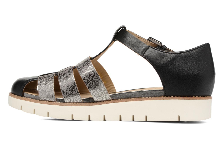 Sandali e scarpe aperte Geox D DARLINE D D721YD Nero immagine frontale
