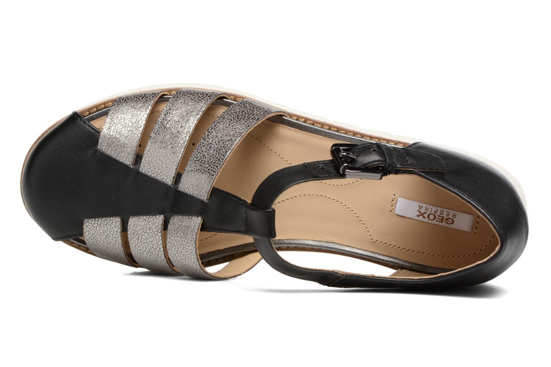 Sandali e scarpe aperte Geox D DARLINE D D721YD Nero immagine sinistra