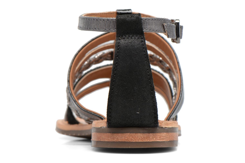 Sandali e scarpe aperte Geox D SOZY E D722CE Nero immagine destra