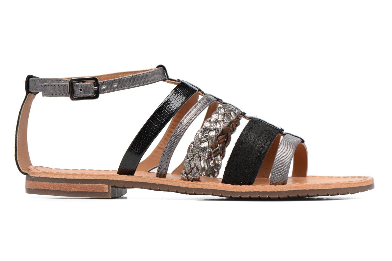 Sandali e scarpe aperte Geox D SOZY E D722CE Nero immagine posteriore
