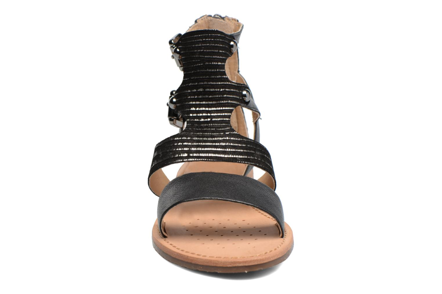 Sandals Geox D SOZY G D722CG Black model view